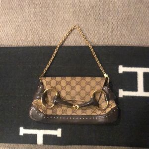 Gucci Horsebit Chain Convertible Purse